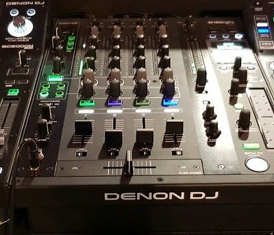 Denon X1800 Prime - 4-Channel DJ Mixer ABSOLUTELY MINT Condition • 900£