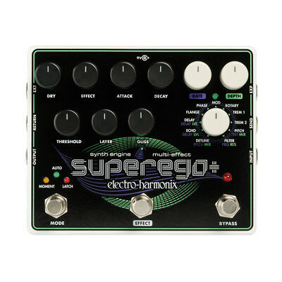 Electro Harmonix Superego+ Synth Engine / Multi Effect, New! • 181.92£