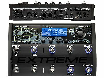 TC Helicon Voicelive 3 Extreme Processor Di Effects For Voice Guitar Vocoder • 602.30£