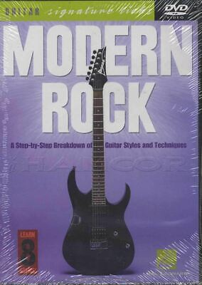 Modern Rock Guitar Signature Licks Tuition DVD Learn How To Play