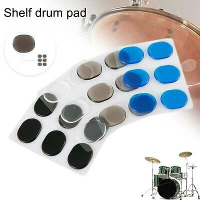 24PCS Drum Tone Control: RTOM MoonGel/SkyGel Blue & Clear Moon Drums Damper Pads • 4.99£