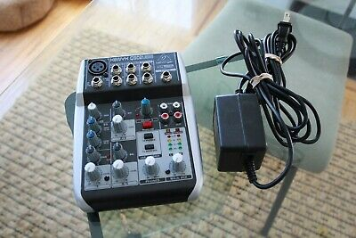 Behringer XENYX Q502USB 5-input Mixer With USB - GREAT CONDITION W/ Power Cable • 9.17£