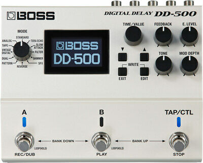 Boss DD-500 Delay Guitar Effects Pedal Stompbox • 349£