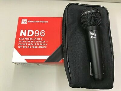 EV Electro Voice ND96 Dynamic Supercardioid Vocal Microphone- ND-96 NEW IN BOX • 152.08£