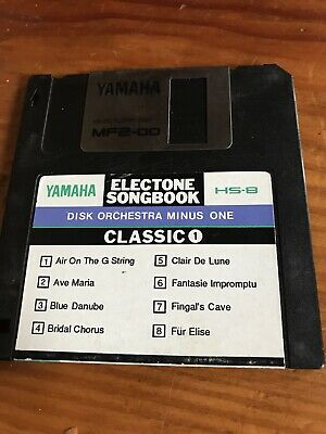 YAMAHA HS8 Electone Songbook CLASSIC 1. DISK ORCHESTRA MINUS ONE 8 CLASSIC HITS. • 2£