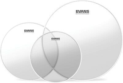 Evans G1 Tompack Clear, Standard (12 inch, 13 inch, 16 inch)