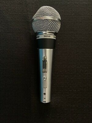 Shure 565SD Dynamic Cable Professional Microphone • 42.72£