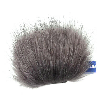 Outdoor Mic Furry Windscreen Muff Cover For Tascam DR-22WL Stereo Microphone • 4.38£
