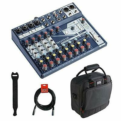 Soundcraft Notepad-12FX Small-Format Analog Mixing (12-Channel Mixer Bundle) • 277.02£
