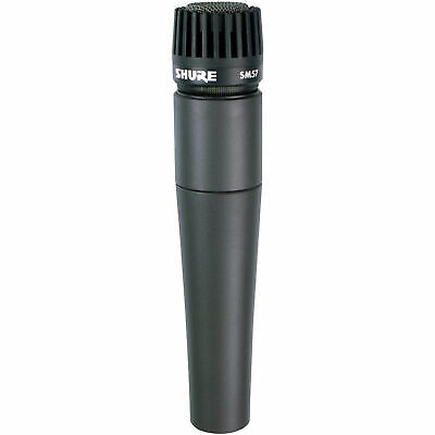 Shure SM57-LC Instrument Microphone SM 57 57LC Dynamic Cardioid Mic US48 • 75.66£