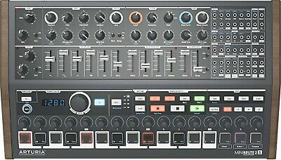 Arturia MiniBrute 2S Analog Synthesizer Sequencer BOXED FREEPOST • 399.99£