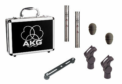AKG C451B/ST Stereo Matched Pair Small Diaphragm Condenser Mic • 863.55£