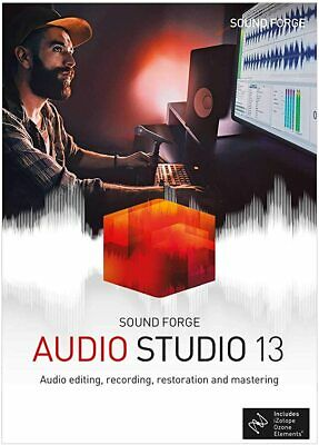 MAGIX Sound Forge Audio Studio 13 - [Download] • 17.95£
