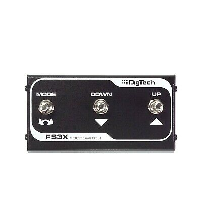 DigiTech FS3X 3-Button Footswitch • 43.95£