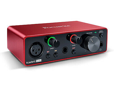 Focusrite Scarlett Solo 3rd Generation USB Audio Interface with Pro Tools