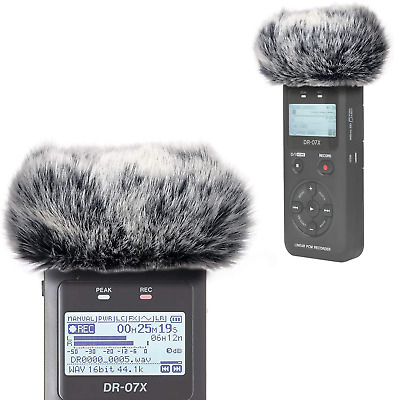 Dr07X Windscreen Muff For Tascam Dr-07X Dr-07Mkii Portable Digital Recorders, Dr • 9.45£
