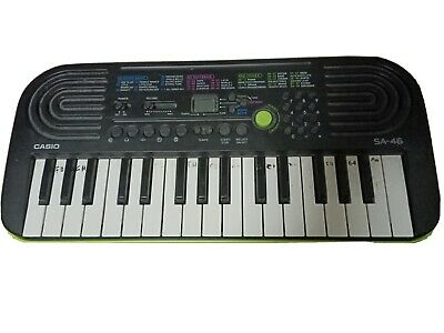 CASIO SA-46A 10 Songs Bank 32 Note Mini Keys, Keyboard 50,  100 Tones Mini Piano • 28£