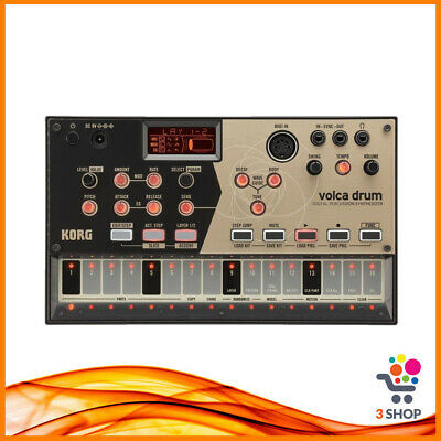 Korg Volca Drum Sequencer Drum Machine Synth Sintetizzatore Digitale Sync Midi • 167.95£
