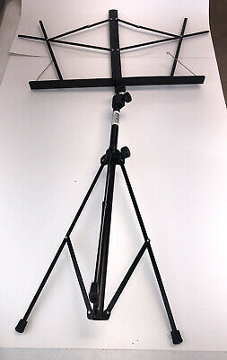 On-Stage Compact Folding Sheet Music Stand Black SM7122BB  FREE SHIPPING G • 7.21£