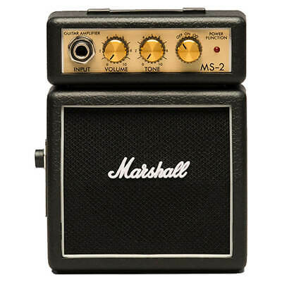 Marshall MS-2 Micro Guitar Amplifier • 26£