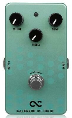 One Control Baby Blue Overdrive Electric Guitar Effect Effects Pedal BJF Series • 160.19£