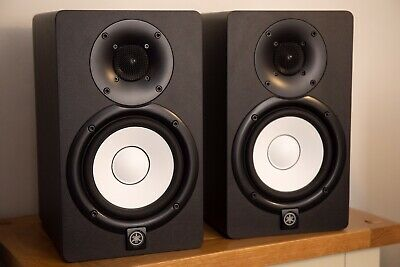 Yamaha HS5 Powered Monitor Bundle With Speaker Stands Inc. Instruction Manual • 240£