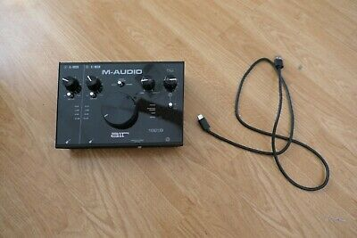 M-Audio AIR 192|8 - 2-In 4-Out USB Audio / MIDI Interface • 112.52£