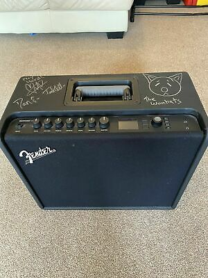 Fender Mustang GT 100 Combo Amplifier Signed by The Wombats!
