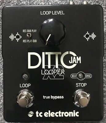 TC Electronic DITTO JAM X2 Looper Pedal • 150£