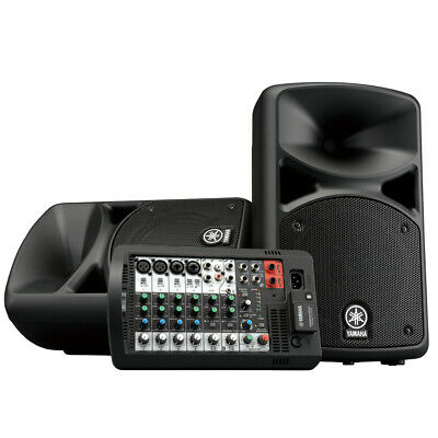 Yamaha STAGEPAS 400BT 400W 8-Channel Portable PA System With Bluetooth, New! • 589.05£