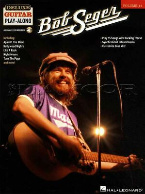 Bob Seger Deluxe Guitar Play-Along TAB & Music Book/Audio Rock SAME DAY DISPATCH