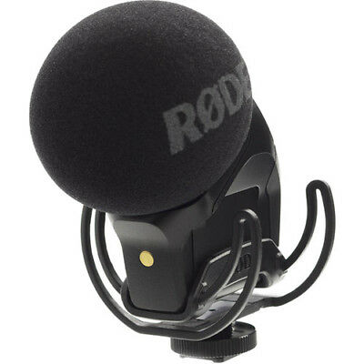 RODE STEREO VIDEOMIC PRO Rycote Mount ON-CAMERA MIC Video - RODE SVM SVMP-R • 186.60£