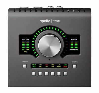 Universal Audio Apollo Twin MKII DUO Audio Interface - Black • 548.59£