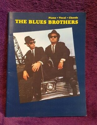 The Blues Brothers Piano Vocal Guitar Sheet Music Book • 9.99£