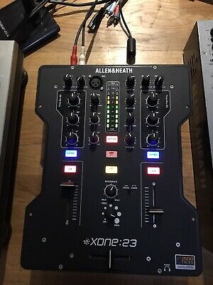 Allen & Heath Xone:23 Professional 2 Channel DJ Mixer With Filters • 150£
