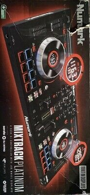 Numark Mixtrack Platinum With Head Phone And USB Cable.Condition Is  Used  • 120£