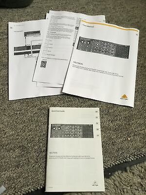 Behringer Neutron Manual And Photo Copy  • 5£