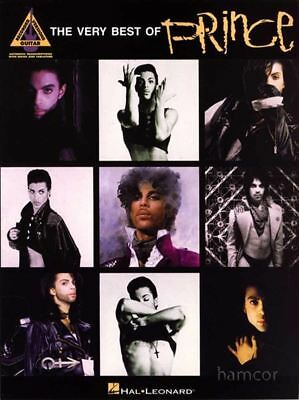 The Very Best of Prince Guitar Recorded Versions TAB Book Greatest Hits Songbook