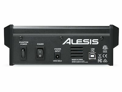Alesis Multimix 4 Usb Fx 4-channel Mixer With Effects & Usb Audio Interface • 93.96£