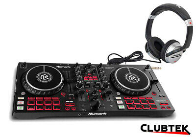 Numark Mixtrack Pro FX 2-deck Serato Controller With Paddles + Free Headphones • 199£