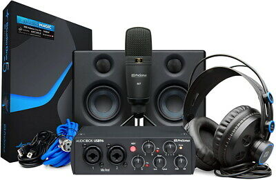 Presonus AudioBox 96 25th Anniversary Studio Ultimate Recording Bundle , New! • 231.51£