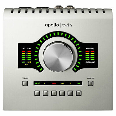 Universal Audio Apollo Twin USB DUO Heritage Edition USB Audio Interface • 787.84£