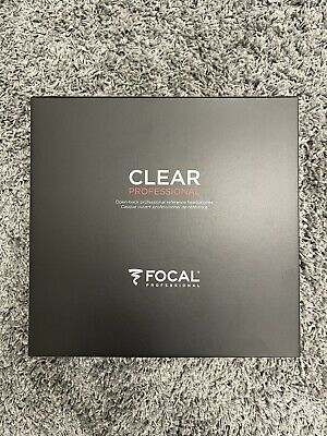 Focal Clear Professional Open-Back Over-Ear Studio Monitor Headphones -Red/Black • 907.04£