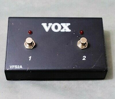NICE Vox VFS2A - 2 Button Footswitch For AC Amplifiers  • 21.47£