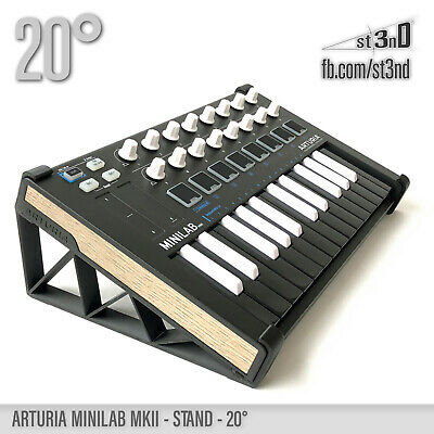 ARTURIA MINILAB MKII STAND - 20 Degrees - 3D Printed- 100% Buyers Satisfaction • 21.28£