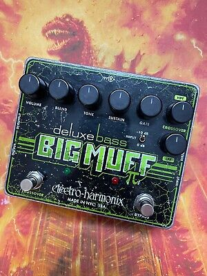 🔥 Electro-Harmonix DELUXE BASS BIG MUFF PI Clean Blend Fuzz Pedal, DI Output 🔥 • 79£