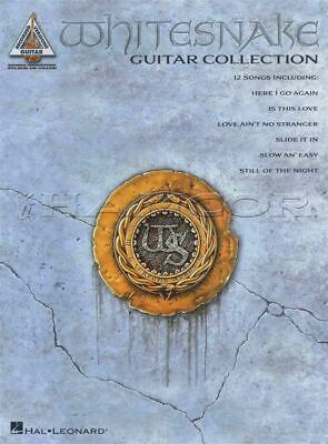 Whitesnake Guitar Collection Recorded Versions TAB Music Book SAME DAY DISPATCH