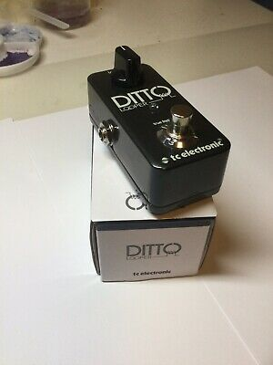 TC ELECTRONICS DITTO LOOPER Guitar Effects Pedal • 37.10£