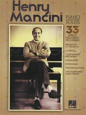 Henry Mancini Piano Solos Music Book The Pink Panther Moon River Charade