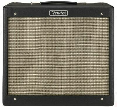 Fender Blues Junior IV 15W 1x12 Tube Guitar Combo Amplifier, Black, NEW #B855619 • 434.15£